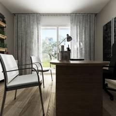 Villa NS: Studio in stile  di De Vivo Home Design