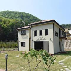 주택 전경: 한다움건설의  주택