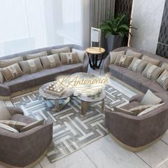 Perfect interior designs from Katrina Antonovich:  Living room by Luxury Antonovich Design