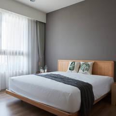 原森:  臥室 by 思維空間設計  , 現代風