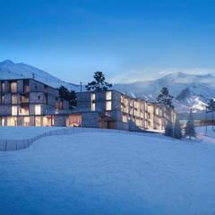 Hotels door Архитектурная студия Чадо