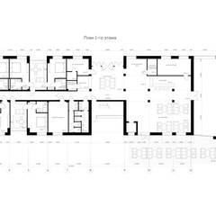 Khách sạn by Архитектурная студия Чадо