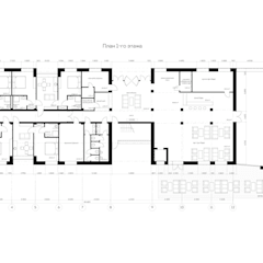 Hotels by Архитектурная студия Чадо