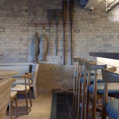 Rick Stein's Sandbanks - Band-sawn Natural Oak Flooring - Coastal Driftwood Chic:  Hotels by Woodflooring Engineered Ltd