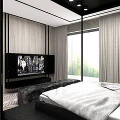 ON THE RIGHT TRACK | II | Wnętrza domu Nowoczesna sypialnia od ARTDESIGN architektura wnętrz Nowoczesny