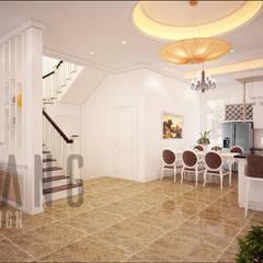 Phòng khách:  Hành lang by DCOR