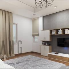 Dormitorios de estilo asiático por DCOR