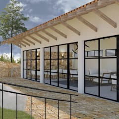 RECREACIÓN ACCESIBLE: Salas de estilo  por BICHO arquitectura