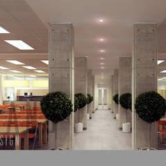 Văn phòng:  Phòng học/Văn phòng by DCOR