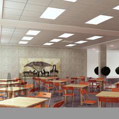 Nội thất văn phòng:  Phòng học/Văn phòng by DCOR