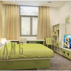 Nội thất biệt thự mới:  Phòng trẻ em by DCOR