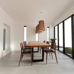 노후된 주택 리모델링 디자인-다이닝 룸 디자인: 디자인 이업의  다이닝 룸