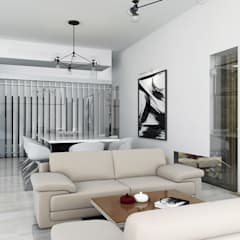 :  غرفة السفرة تنفيذ SA Architects and Partners