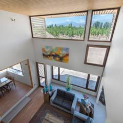 Casa Passalaqua: Salas multimedias de estilo  por GITC ,
