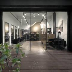 Espacios comerciales de estilo  por Ho.space design 和薪室內裝修設計有限公司