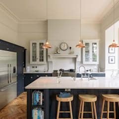 The Crystal Palace Kitchen by deVOL :  Kitchen units by deVOL Kitchens
