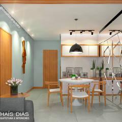 Sala de Estar e Jantar : Salas de jantar  por Thaís Dias Arquitura e Interiores
