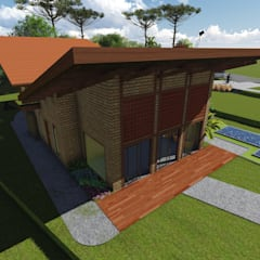 Trung tâm triển lãm by TELLUS ARQUITETURA SUSTENTÁVEL