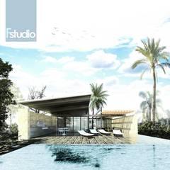 Bangalôs  por Fstudio Arquitectura