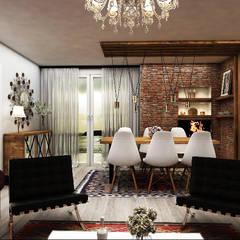 DİZAYNer® | Mutfak – EDREMİT EV:  tarz Oturma Odası