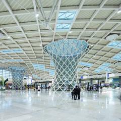 Hazan Mimarlık – Adnan Menderes Airport International and Domestic Terminal:  tarz Havalimanları