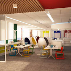 Schools by dal design office, Modern