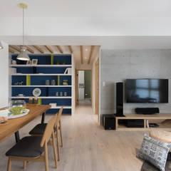 غرفة السفرة تنفيذ 寓子設計