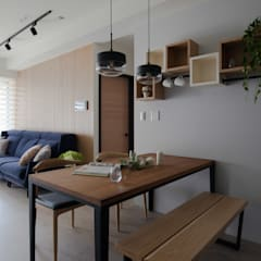Dining room by 極簡室內設計 Simple Design Studio