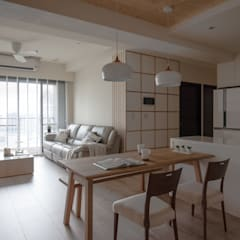غرفة السفرة تنفيذ 極簡室內設計 Simple Design Studio