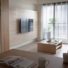Projekty,  Salon zaprojektowane przez 極簡室內設計 Simple Design Studio