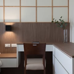 Habitaciones de estilo  por 極簡室內設計 Simple Design Studio, Asiático