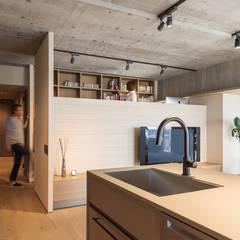 K HOUSE: FANFARE CO., LTDが手掛けたキッチンです。