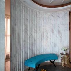 Corridor & hallway by 相即設計室內裝修有限公司