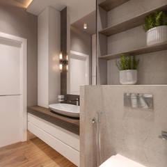 Bathroom by homify, Scandinavian