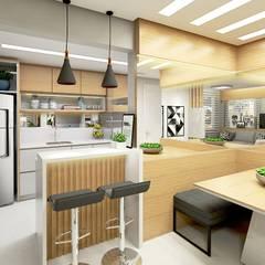 Cocinas de estilo moderno de Letícia Saldanha Arquitetura Moderno
