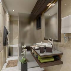 Master Bathroom:  Bathroom by Ravenor's Design Solutions
