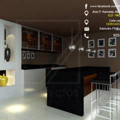 Diseño de Bar Ilo, Moquegua: Bodegas de vino de estilo minimalista por F9 studio Arquitectos