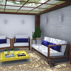 Zen garden by Alice Pucker Design de Interiores