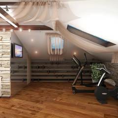Дизайн дома 4: Медиа комнаты в . Автор – ИП Поварова Татьяна Владимировна