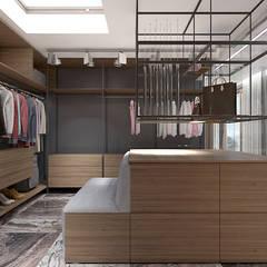 TAKE THE PLUNGE! | II | Wnętrza rezydencji: styl , w kategorii Garderoba zaprojektowany przez ARTDESIGN architektura wnętrz