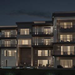 Eastern Facade:  Villas by Levels Studio
