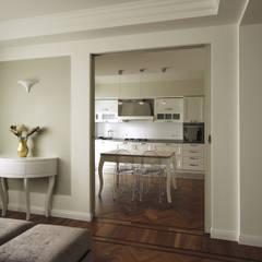 Architettura d'Interni in Stile Classico Contemporaneo: Cucina in stile in stile Classico di JFD - Juri Favilli Design