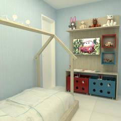 Imagem Quarto Infantil: Quarto infantil  por Dayane Medeiro Arquitetura e Interiores