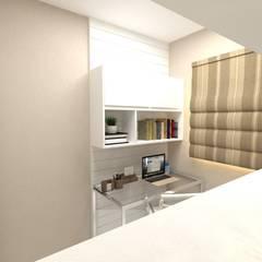 Imagem Home Office 02: Escritórios  por Dayane Medeiro Arquitetura e Interiores