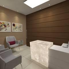 Imagem Recepção 02: Espaços comerciais  por Dayane Medeiro Arquitetura e Interiores
