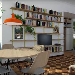 Sala: Salas de jantar  por NATALIA BARTOLOMEO ARQUITETURA | DESIGN STUDIO