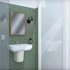 Banheiro: Banheiros  por NATALIA BARTOLOMEO ARQUITETURA | DESIGN STUDIO