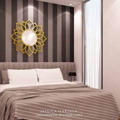 : Kamar Tidur oleh JESSICA DESIGN STUDIO,