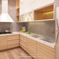 :  Dapur by JESSICA DESIGN STUDIO