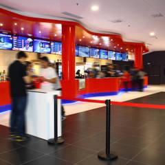 KRION® en los cines más modernos de Europa, Multicines Odeon Sambil: Centros comerciales de estilo  de KRION® Porcelanosa Solid Surface